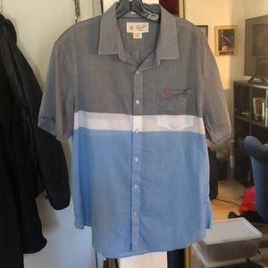 Men's Penguin Brand Button Down Shirt Size XL